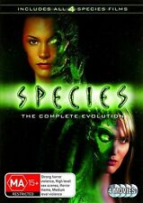Species 1-4: The Complete Evolution  DVD R4 MA15+