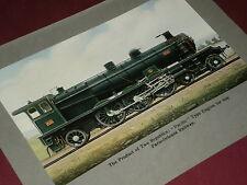 'PACIFIC' TYPE ENGINE 4501 - Paris-Orleans Railway  - Antique Print 1910
