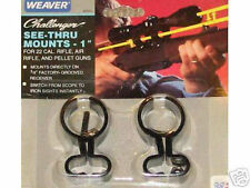 WEAVER SEE THRU SCOPE MOUNT MARLIN 795 60 22 RIMFIRE