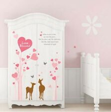 Love Blooms Wall decal Removable stickers decor Nursery Art baby Lover Couple