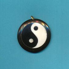 Yin Yang Yab Yum Yin Yan Pendant, small, Hand Made Nepal free shipping US