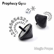 LK_ Magic Tricks Prop Funny Prediction Spinning Top Gyro Children Toy Gift _GG