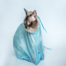 High Quality Mesh Cat Grooming Bathing Restraint Bag Cat Shower Pocket Bag