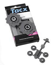 Tacx Roues DE CHANGEMENT rouleaux JOCKEY , SRAM course, acier inoxydable, MTB