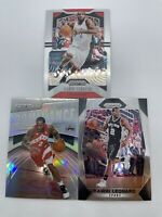 Lot Of 3 Kawhi Leonard Prizm 2017 #293 Silver Domincance Cards 2019 Short Print