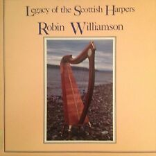 ROBIN WILLIAMSON 'LEGACY OF SCOTTISH HARPERS'  LP RARE IN MINT NEW CONDITION