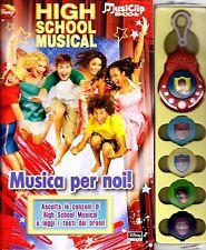 High School Musical. Musica per noi! Con gadget -Disney- Libro nuovo in offerta!