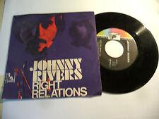 "JOHNNY RIVERS""RIGHT RELATIONS-disco 45 giri LIBERTY italy 1969"" PERFETTO"