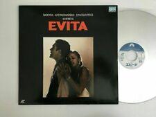 Evita MADONNA Laser Disc Japan PILF-2493 LD