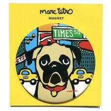 *NWT* Marc Tetro Pug in Times Square, NYC Blue Magnet
