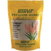 BONVIT PSYLLIUM HUSKS 500G ORAL POWDER 100% PURE DIETARY FIBRE DIGESTION HUSK
