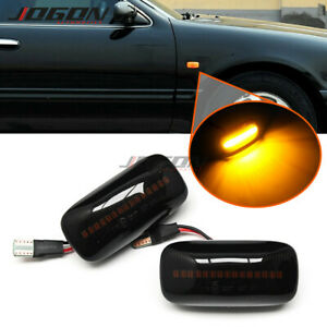 For Nissan Maxima Almera Pulsar N15 LED Dynamic Side Marker Sequential Light