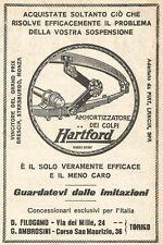 W9122 HARTFORD ammortizzatore di colpi - Pubblicità del 1923 - Vintage advert