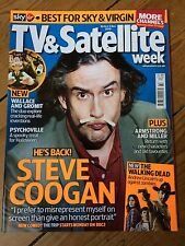 STEVE COOGAN rare UK magazine from 2010 Andrew Lincoln Psychoville James May
