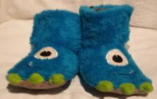 2603f4ee7d3 toddler boys moster claw foot slippers size s ( 5-6)