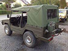 VW Iltis Verdeck NEU Bronzegrün RAL 6031 Verdeckplane