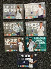 Set Of 7 Panini Euro 2020 Adrenalyn Xl England Players Limited Editions