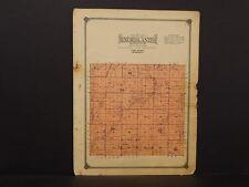 Minnesota Lyon County Map Nordland Township 1914 W6#52