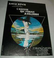 The MAN WHO FELL to EARTH FRENCH MOVIE POSTER DAVID BOWIE NICE ART SCI FI CULT