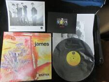 James Stutter US Promo Vinyl LP w Promo Postcard Photo Tim Booth C86