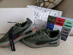 Puma Porsche Legacy Future Rider Turbo 930 Green 9.5 Limited New Shoes Sneakers