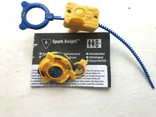 RARE HASBRO ORIGINAL CLASSIC FIRST GENERATION SPARK KNIGHT YELLOW BEYBLADE