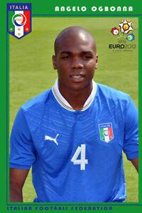 Angelo Obinze Ogbonna Italia schoenes Postkarte