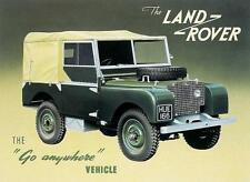 LAND Rover Serie 1 1948-1951 Workshop & operazione manuale + più