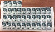Australian Antarctic territory 1/ 34 stamps crease affecting 3 stamps 4 rust