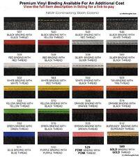 Afterthoughts Auto Lloyd Mats Optional Premium Vinyl Binding Checkout