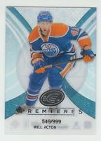 (56291) 2013-14 UPPER DECK ICE WILL ACTON RC #70 (549/999)