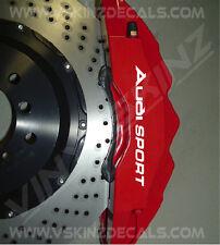 Audi Sport Alt Premium Cast Brake Caliper Decals Stickers TT RS S-line Quattro