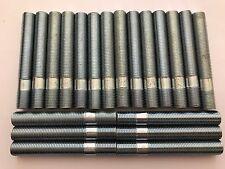 20 x M12X1.25 LEGA RUOTA BORCHIE Conversione Bulloni Lunghi 80mm si adatta ALFA ROMEO 58.1