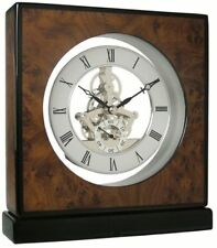 BRADBURY SLELETON MANTEL CLOCK BY ACCTIM MOD 33556