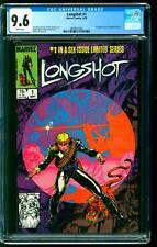 Longshot 1 CGC 9.6 NM+ 1st Longshot & Spiral Arthur Adams cover Marvel 1985
