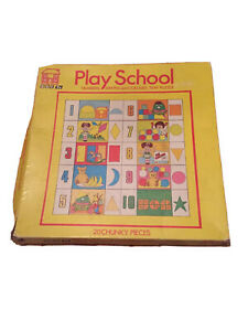 Vintage BBC Play School/Playschool Number Jigsaw Puzzle Boxed