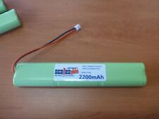 Rechargeable Battery Pack RC Batteries NiMh High Cap 2200mAh 7.2V 6x AA + Cable