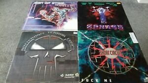 4x Hardcore, Gabber, Happy Hardcore Rave Records 90s