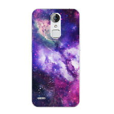 Case For ZTE Blade V7 Lite A1 Z11 Mini Soft TPU Phone Back Cover Star Marble