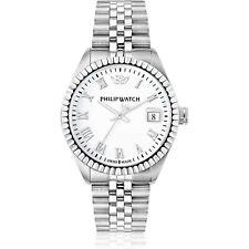 Orologio Philip Watch caribe r8253597022 uomo watch SWISS made bianco data DATE