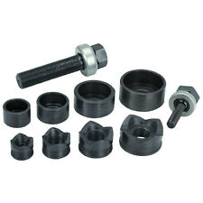 NEW 10 pc Manual Knockout Punch Kit Knock Out Conduit