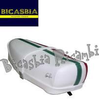 9225 - SELLA SELLONE CON LEVETTA TRICOLORE BIANCA VESPA 125 ET3 PRIMAVERA