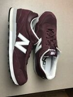 Men's New Balance Classics ML515 (ML515RSD) Athletic Shoes Burgundy Size 18