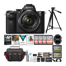 Sony Alpha a7II Mirrorless Digital Camera with 28-70mm Lens and Software Bundle