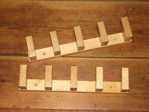 2 x  Ikea Molger  Haken Leiste  Handtuchhalter Holz