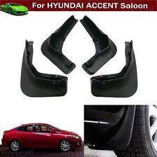 4x Car Mud Flap Splash Guard Fender Mudguard For Hyundai Accent Sedan 2011-2017