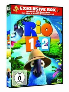 RIO - RIO 1 & 2 (3 DVD EDITION)  3 DVD NEW+