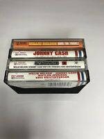 Lot Of 4 Cassette Tapes Highwayman Johnny Cash Willie Nelson Classic Country