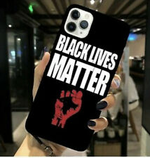 BLACK LIVES MATTER Soft Plastic protective iphone case&FREE Waterproof Pouch bag