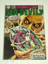SEA DEVILS #2 VG (4.0) DC COMICS DECEMBER 1961+